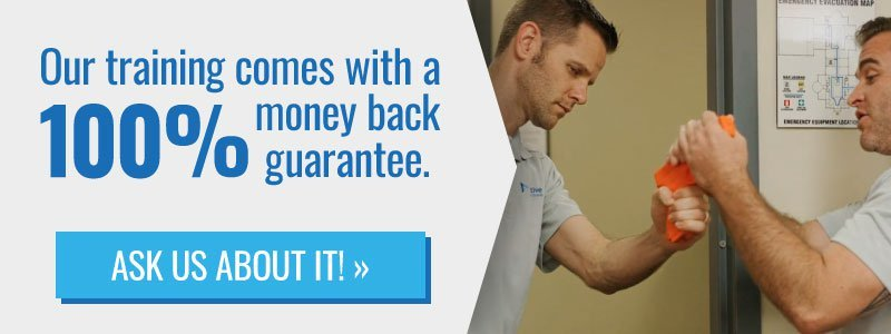 Training with Money Back Guarantee