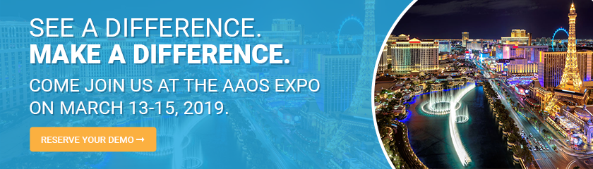 See a Difference. Make a Difference. Join Us at AAOS!