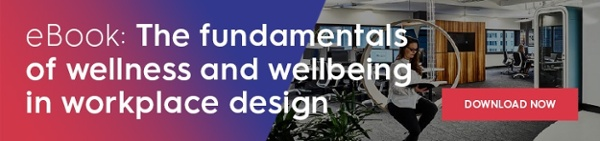 Free eBook: The fundamentals of wellness and wellbeing in workplace design