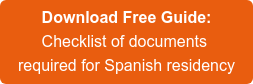 DownloadFree Guide:  Checklist of documents required for Spanish residency
