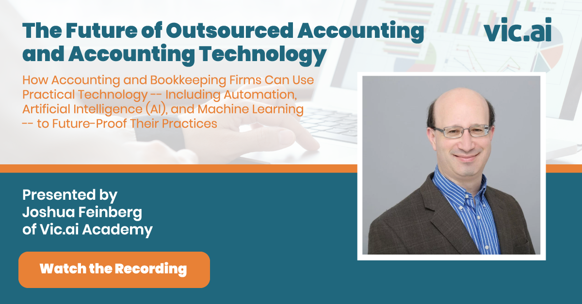 "Watch the Webinar recording: ""The Future of Outsourced Accounting and Accounting Technology"""