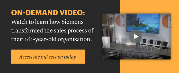 Siemens - Challenger Sales & Marketing Summit