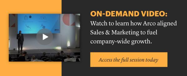 Arco - Challenger Sales & Marketing Summit