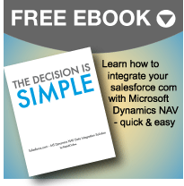 Free SFDC - Dynamics NAV Data Integration Guide