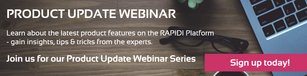 Join us for our MyRapidi Webinars 2018