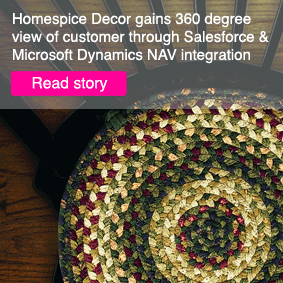 Download Homespice Decor Case story on how to integrate salesforce and MS Dynamics NAV