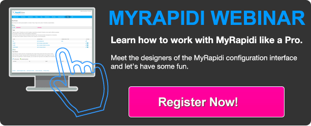 register for myrapidi user interface customer support webinars