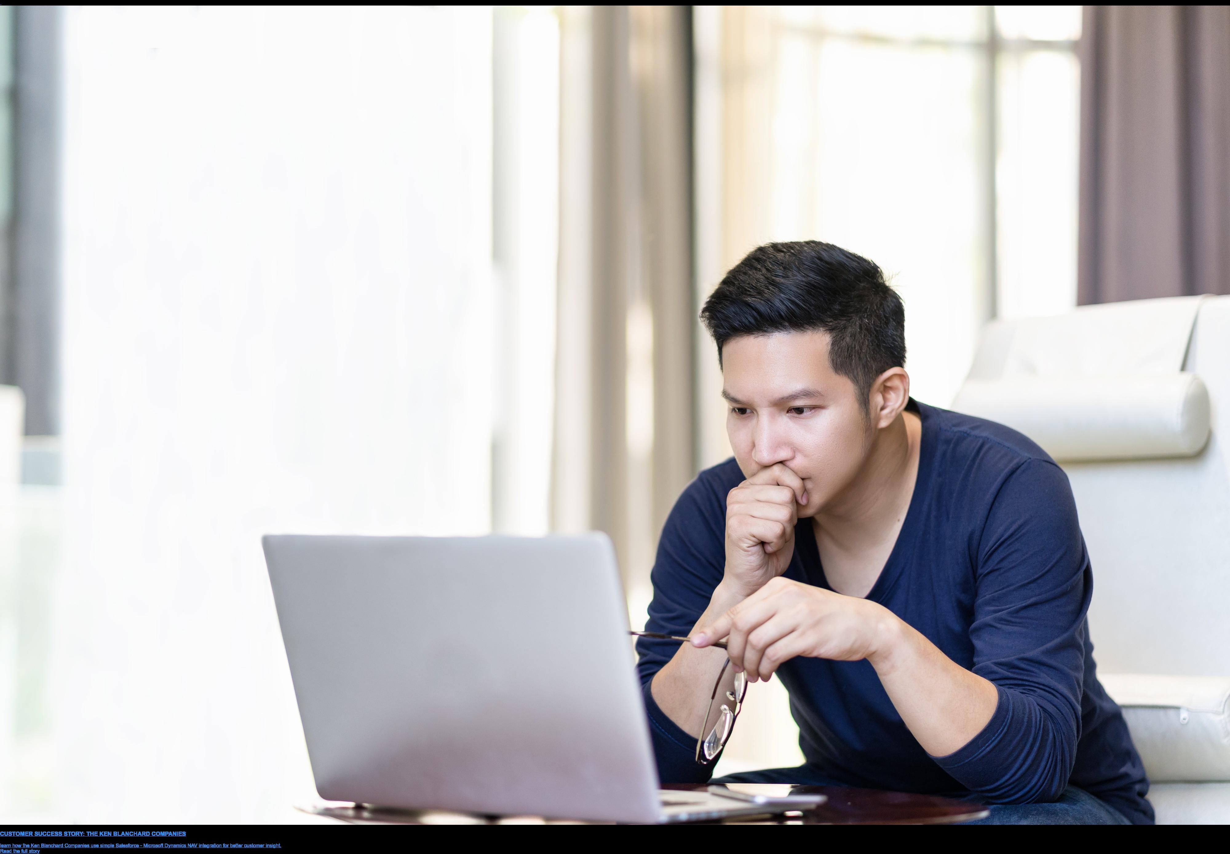 CUSTOMER SUCCESS STORY: THE KEN BLANCHARD COMPANIES  learn how the Ken Blanchard Companies use simple Salesforce - Microsoft  Dynamics NAV integration for better customer insight. Read the full story