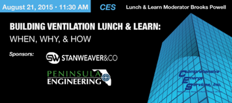 Register for August 21 Lunch & Learn CES