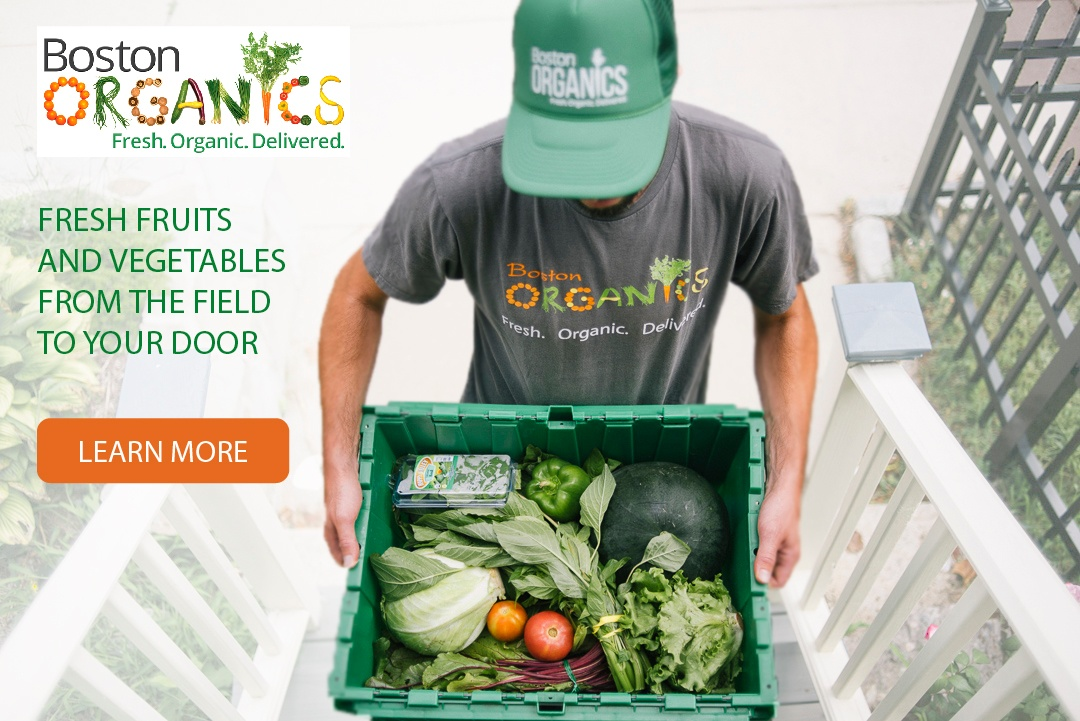 Boston Organics: Fresh fruits and vegetables from the field to your door