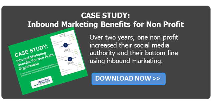Case Study: Inbound Marketing benefits for non profit organizations