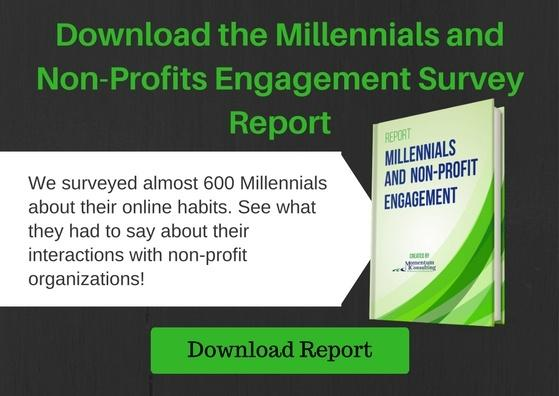 Download the Millennials and Non-Profits Engagement Report
