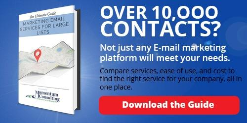 Over 10,000 Contacts? Download Our E-mail Services For Large Lists Guide