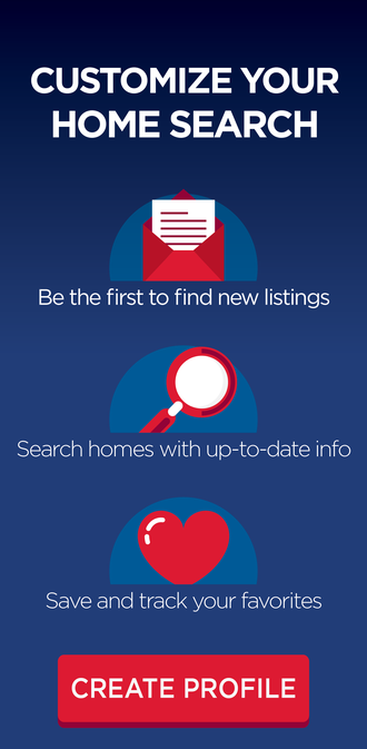 Search homes for sale. Create your profile.