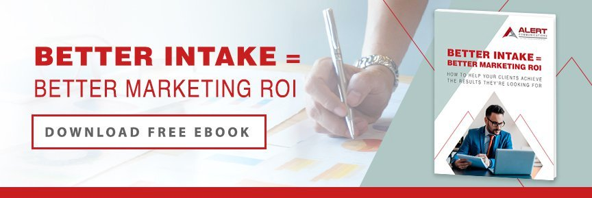 Better Intake = Better Marketing ROI