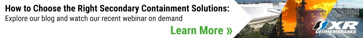 Choosing the right secondary containment solutions recent webinar