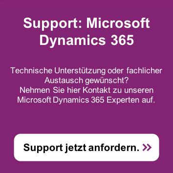 Fordern Sie hier Support zu Ihrem Microsoft Dynamics 365 an >>