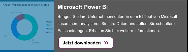 Microsoft Power BI: Laden Sie sich hier kostenlos weitere Informationen herunter >