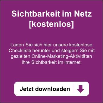 Kostenlose Checkliste für mehr Sichtbarkeit im Netz – Jetzt herunterladen!