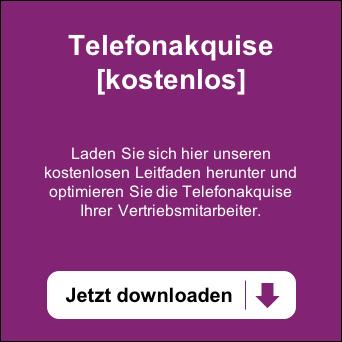 Telefonakquise: Leitfaden für Ihre Vertriebsmitarbeiter. Jetzt kostenlos downloaden