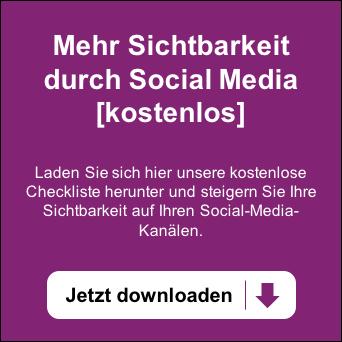 Mehr Sichtbarkeit durch Social Media - Kostenlose Checkliste