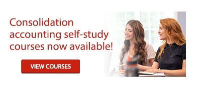 Consolidation accounting self-study courses now available!