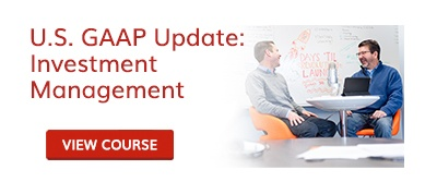 U.S. GAAP Update: Investment Management