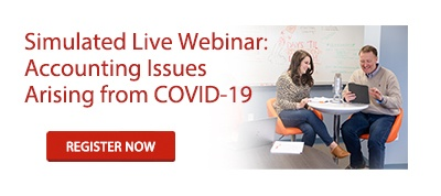 Simulated Live Webinar: Accounting Issues Arising from COVID-19