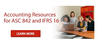 Accounting Resources for ASC 842 and IFRS 16
