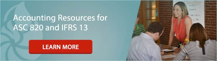 Accounting Resources for ASC 820 and IFRS 13