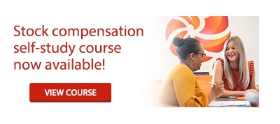 Stock compensation self-study course now available!