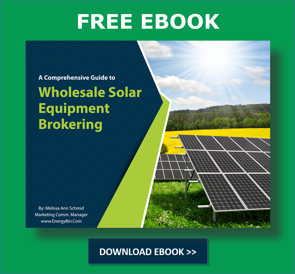 Download Guide to Wholesale Solar Equipment Brokering