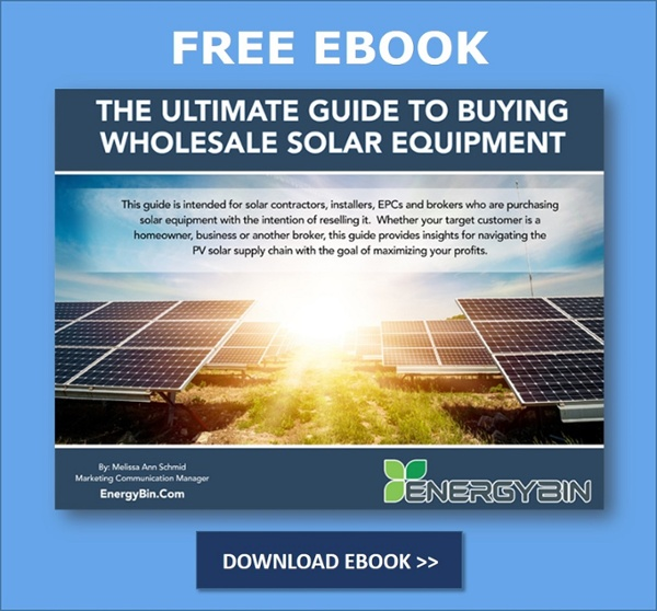 Download Guide to Buying Wholesale Solar Equipment