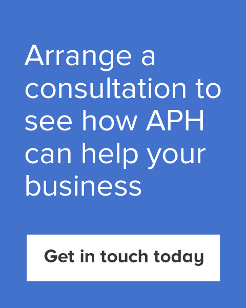 Arrange a consultation to see how APH can help your business