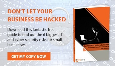 The 6 Biggest IT & Cyber Security Risks For Small Businesses Small