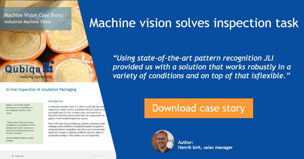 Machine vision case study
