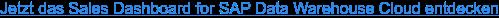 Jetzt das Sales Dashboard for SAP Data Warehouse Cloud entdecken
