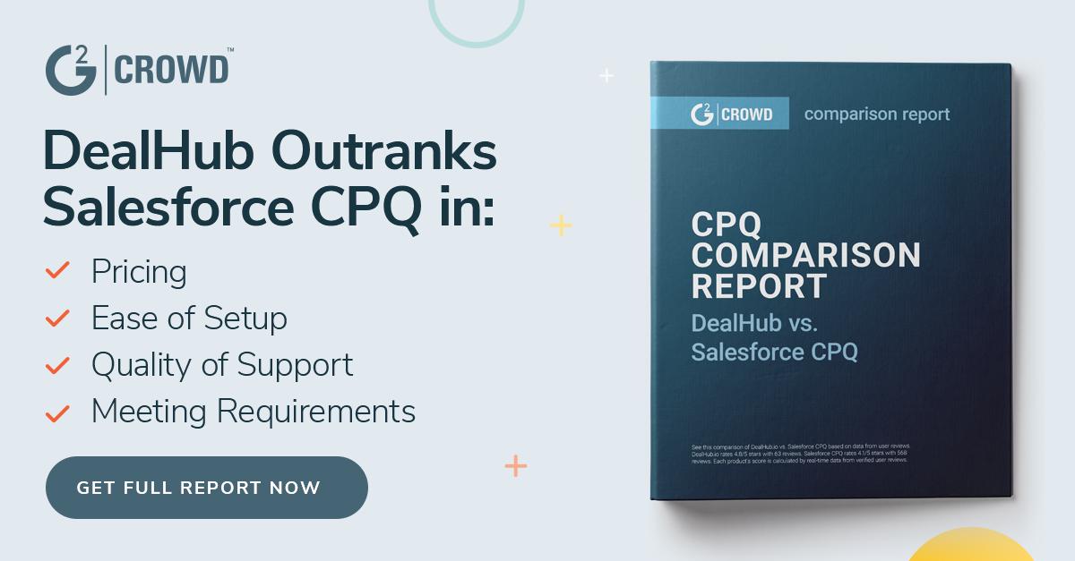 G2 Crowd CPQ Comparison Report