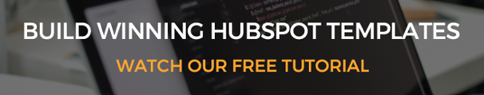 how to build HubSpot templates from a photoshop design file