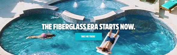 Latham Fiberglass Pools Web Banner | Get Out of the Stone Age