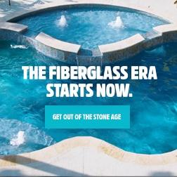 Latham Fiberglass Pools Get Out of the Stone Age