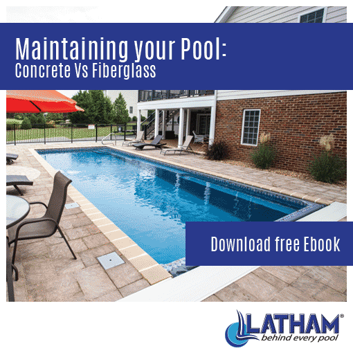 Pool Maintenance Concrete vs Fiberglass Square