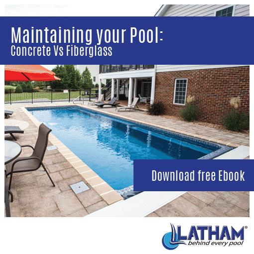 Pool Maintenance Concrete vs Fiberglass Square