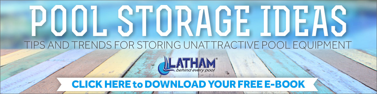 Swimming Pool Storage Ideas Ebook