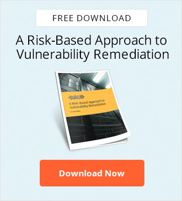 A Risk-Based Approach  to Vulnerability Remediation