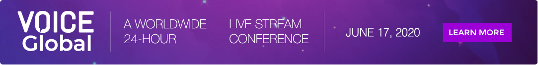 Join Voice Global Live-Stream Conference June 2020