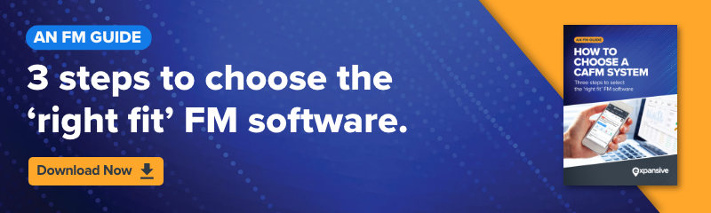 3 steps to choose the right CAFM software