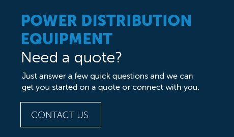 POWER DISTRIBUTION EQUIPMENT QUOTE