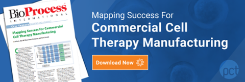 Mapping Success for Commercial Cell Therapy Manufacturing