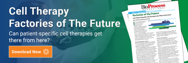 Cell Therapy Factories of the Future